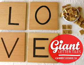 GIANT LETTER TILES