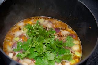 (пошаговый рецепт) Овощной суп- пюре с кориандром