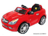 Mobil Mainan Aki Junior QX7999 Mercedez Benz SL65 AMG XL (Extra Large)
