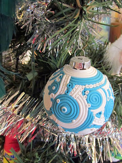 ©2014 Lauren T Kistner, polymer clay, ornament