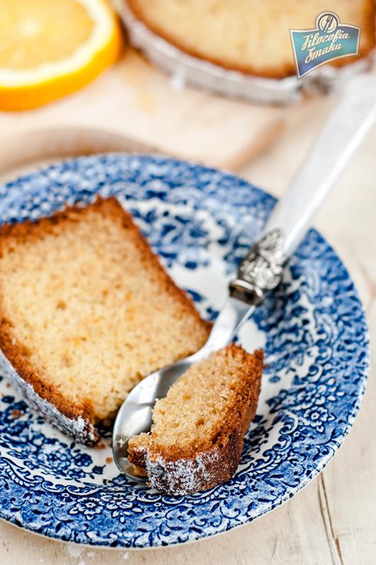 Ciasto pomarańczowe ucierane przepis