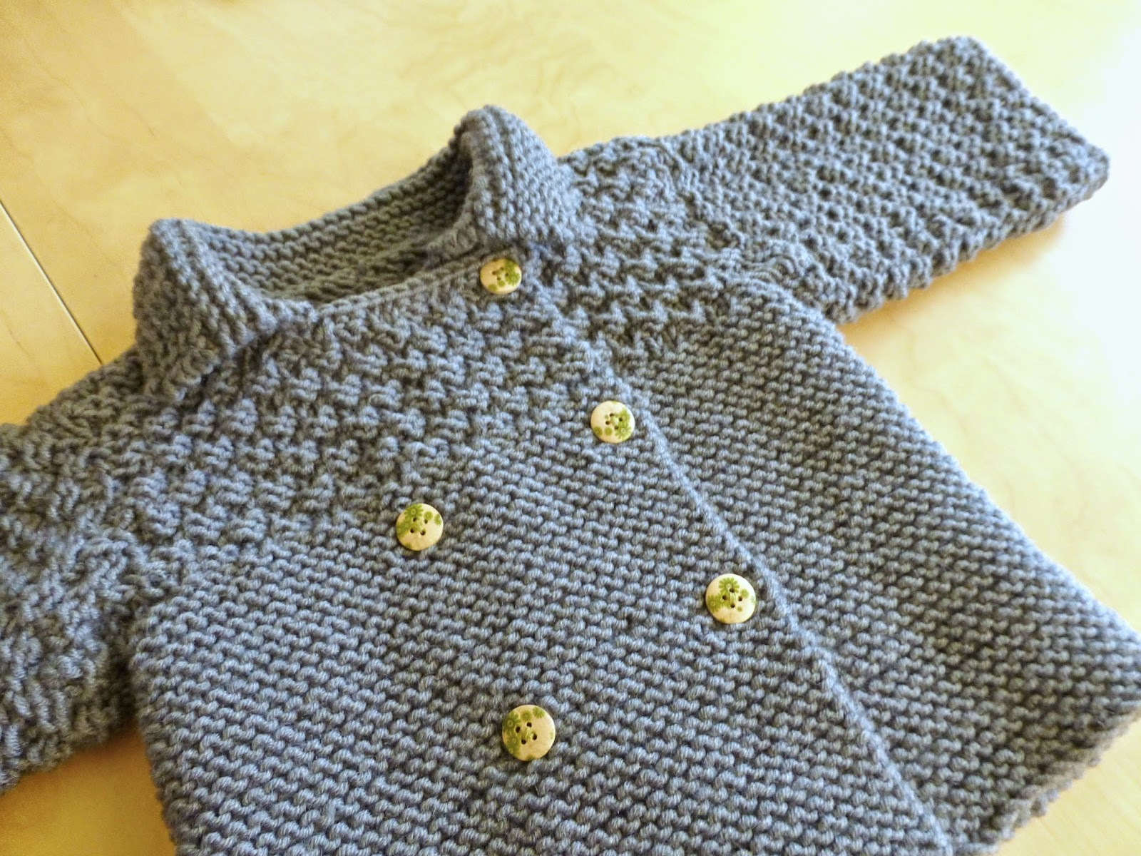 [Tricoti tricota] Mon premier gilet de bébé