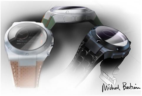HP Smartwatch designed by Michael Bastian