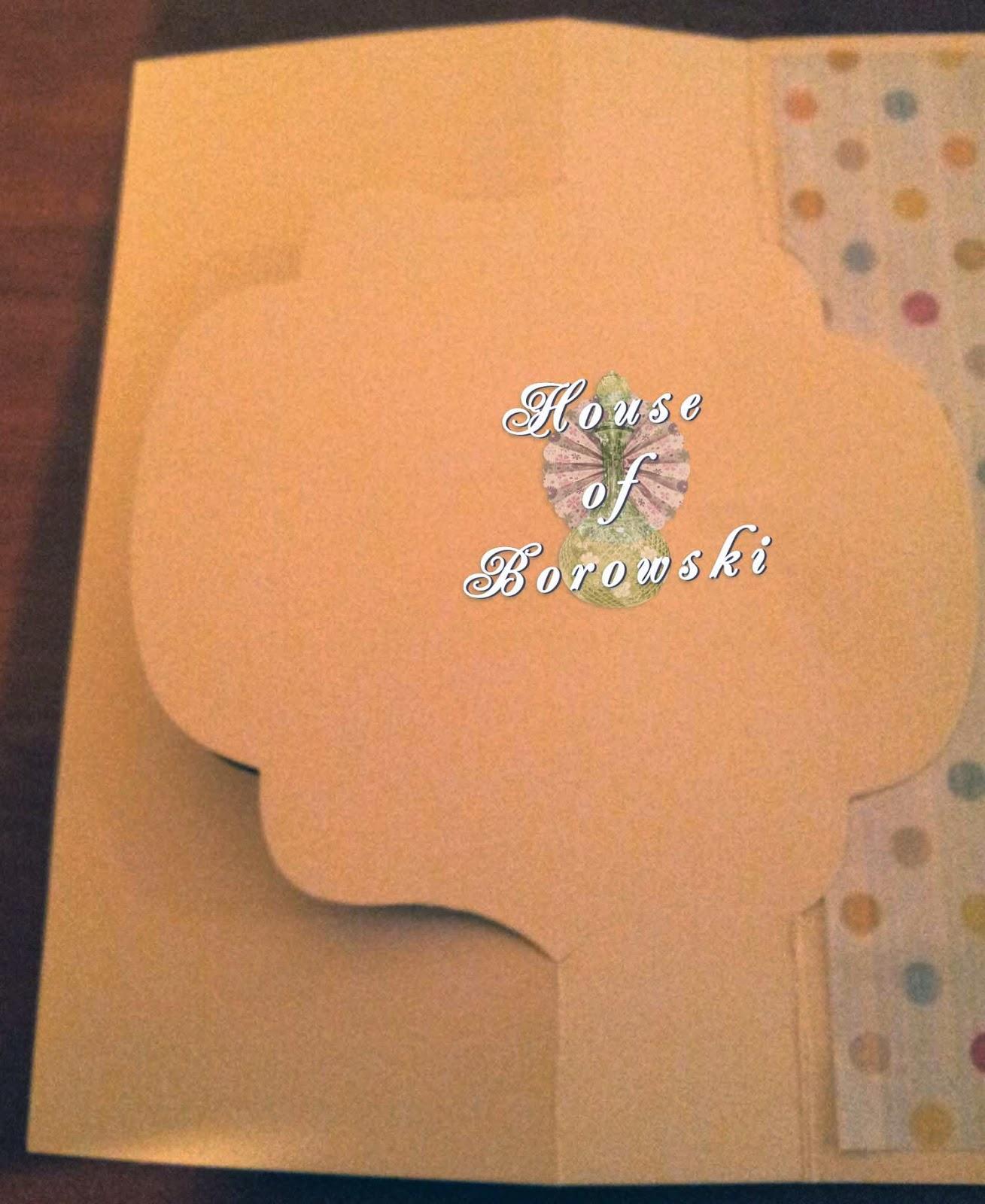 Die Cut Divas, House of Borowski, Bugaboo Edward Present, flip flop card.