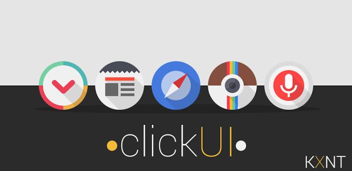 [Themes] Click UI (Go Apex Nova theme) APK v2.1 FULL