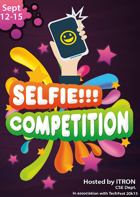 Selfie Competition  - TECHFEST 2k15 - NMIT