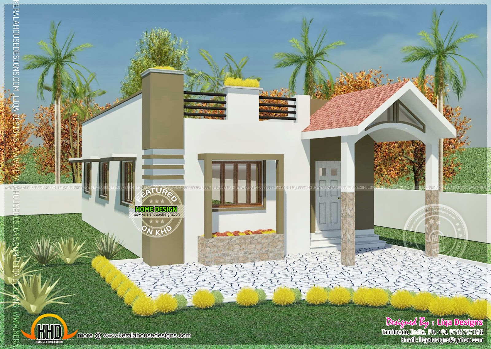 Tamilnadu style homes - House design plans