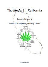 "Amazon Link to the book: ""The Kindest in California - Confessions of a Marijuana Delivery Driver"""