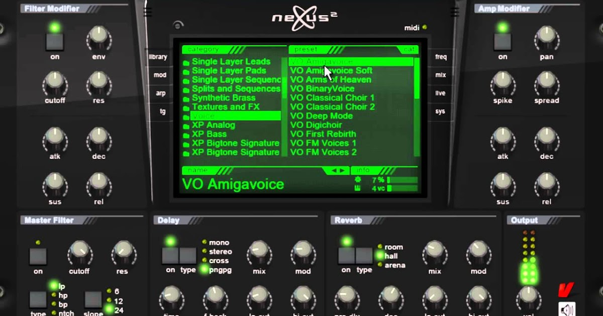 Download Free Analog subtractive synth plug-in