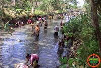 DAM Jambu Dibuka Guna Perbaikan Tanggul Sungai