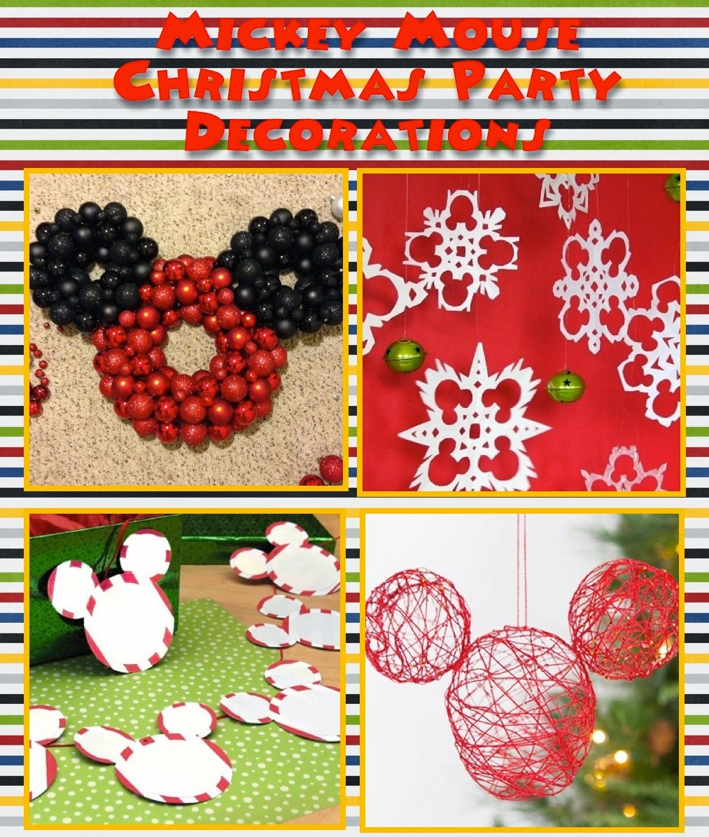 Mickey Mouse Christmas Party Ideas | A Disney Mom's Thoughts