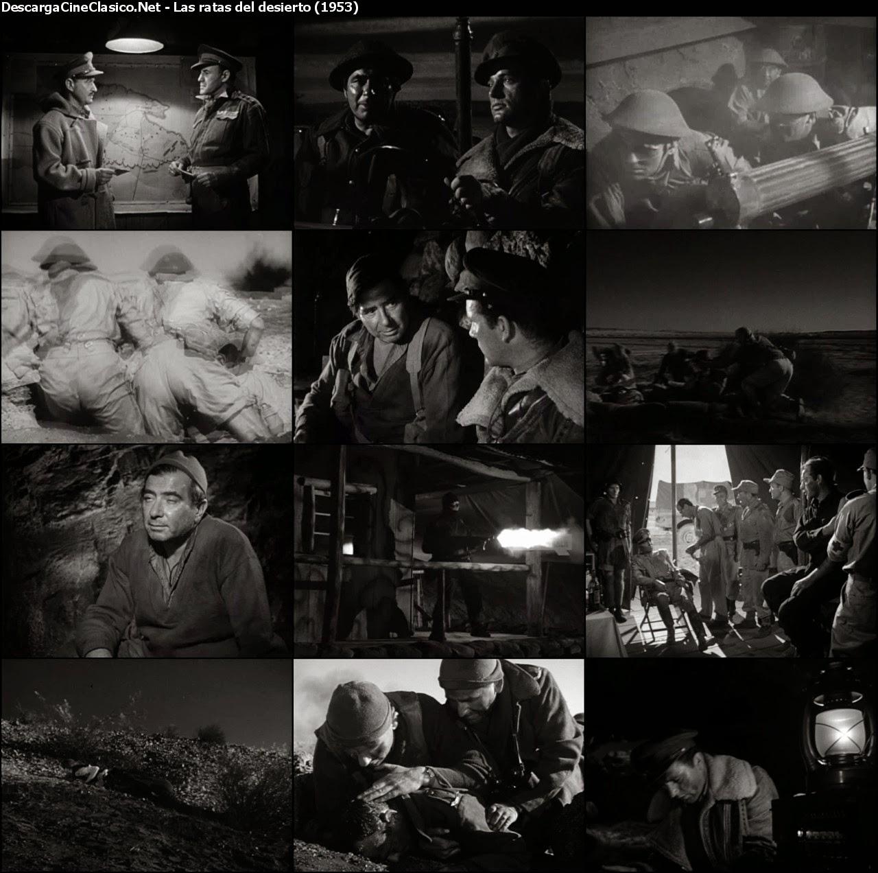 Las ratas del desierto (1953) (The Desert Rats)