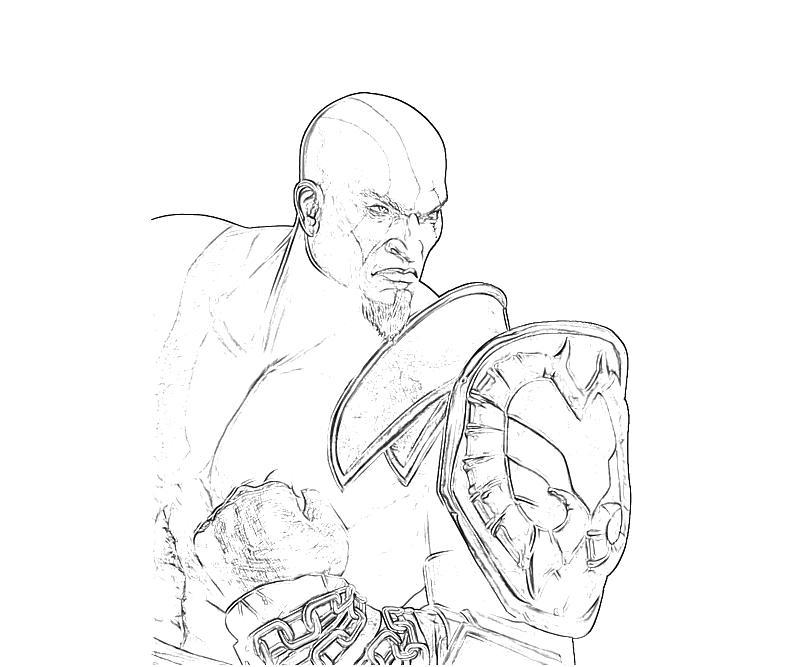 kratos with armor