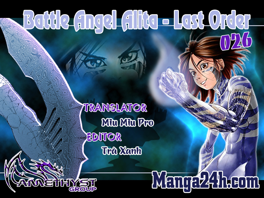 Battle Angel Alita - Last Order