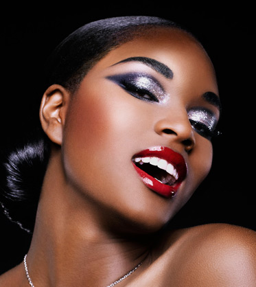 maquilhagem pele negra e morena