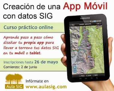 Nuevos cursos para creación de una APP con datos GIS
