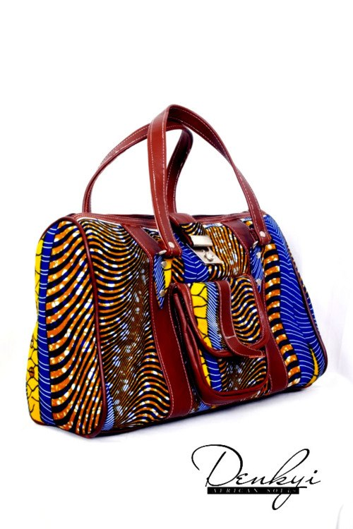 African print in fashion -african print bag on ciaafrique