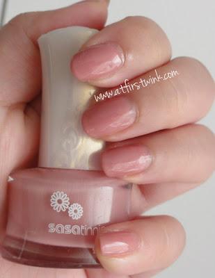 Sasatinnie nail polish FCCHO004 warm pink
