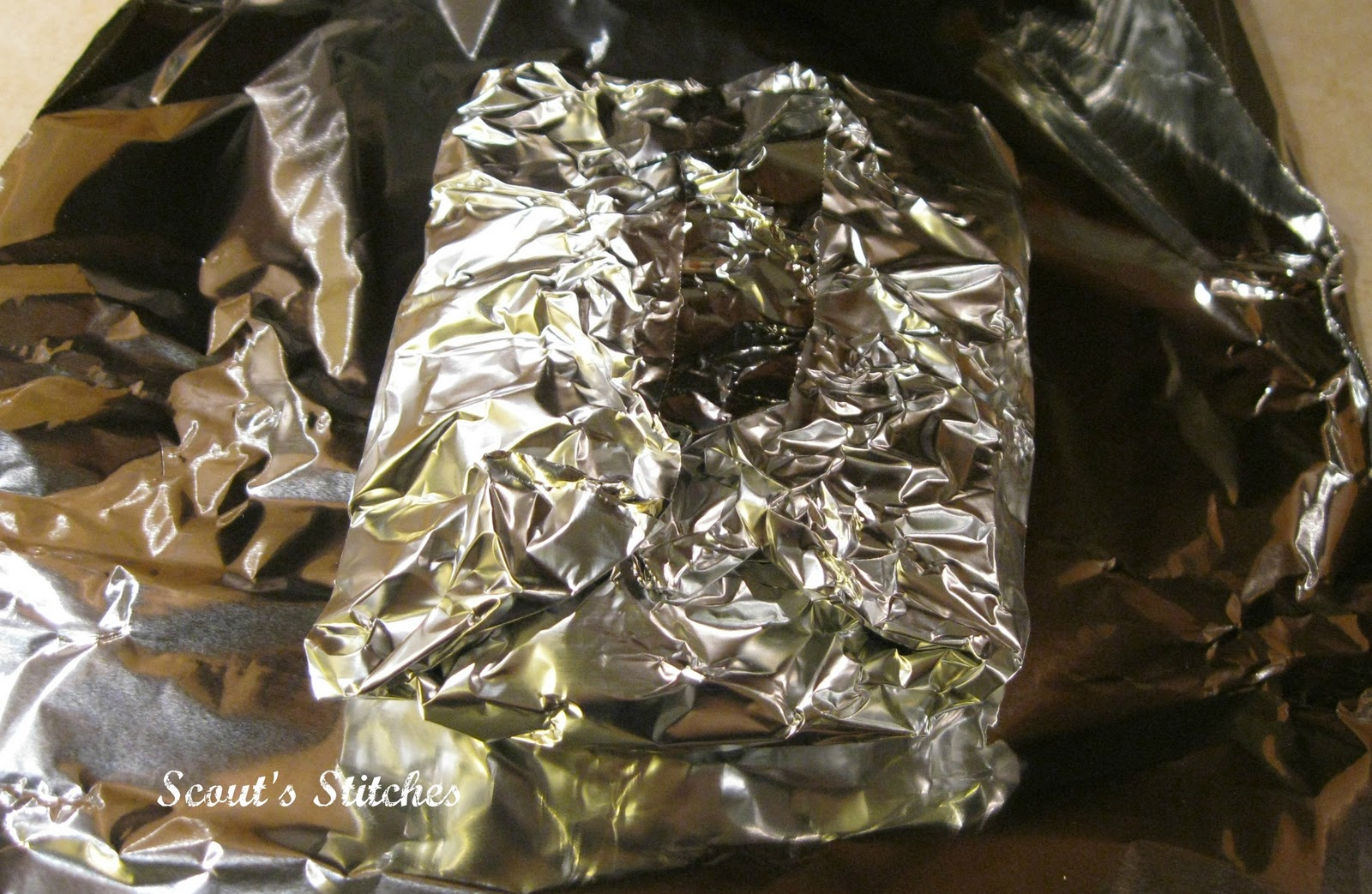 All the joy fish foil packets from zoe 39 s kitchen for Tin foil fish
