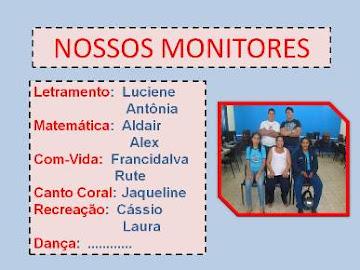 NOSSOS MONITORES