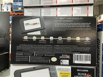 Nintendo 3DS XL Super Smash Bros. Bundle includes both handheld device and video game