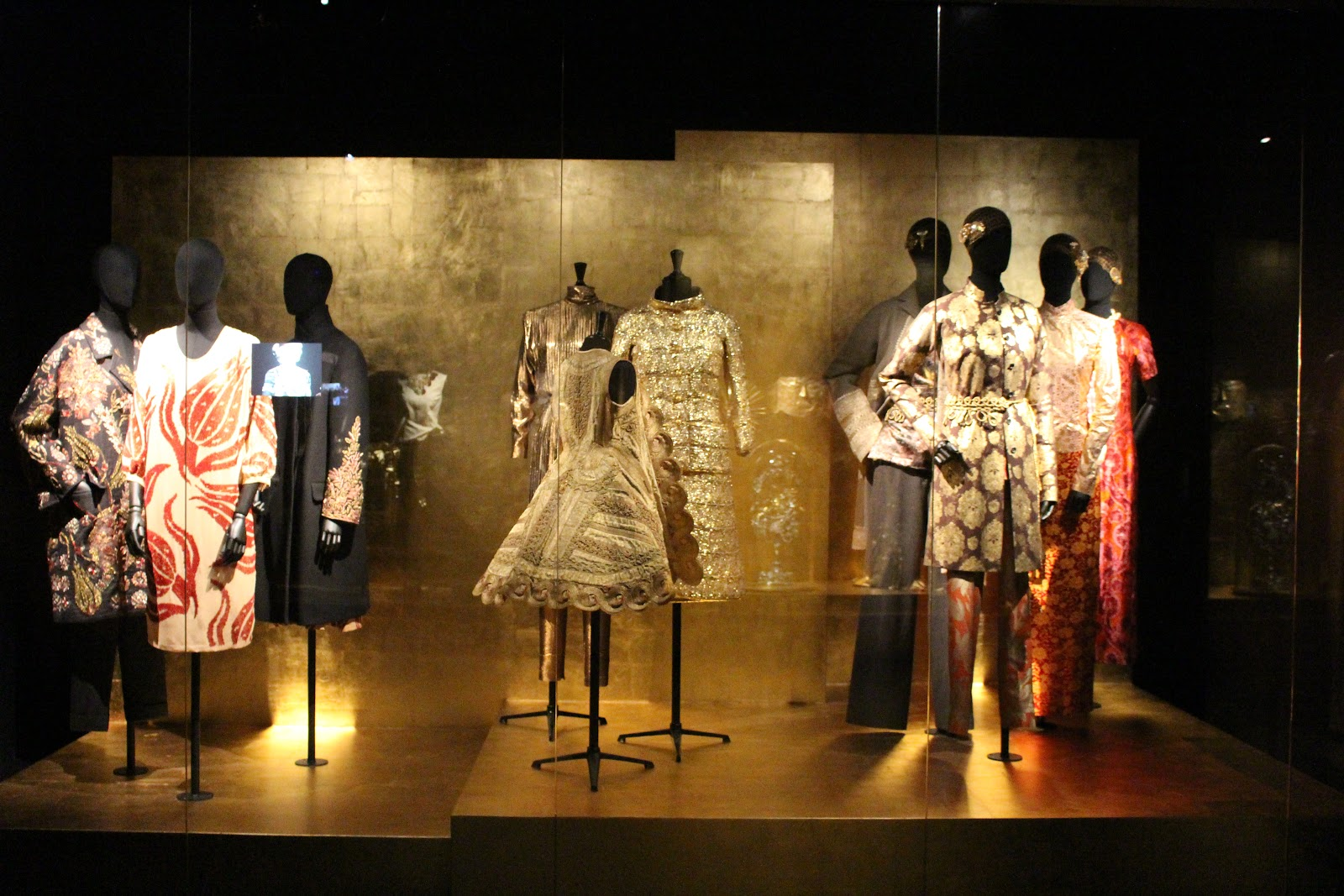 Dries Van Noten Inspirations MoMu Gold