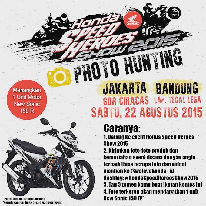 Honda Speed Heroes Show 2015 - Launching Plus Bertebaran Hadiah