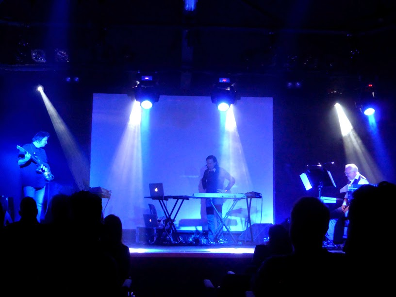 Jerome Froese & Loom live @ Electronic Circus 2014 / photo S. Mazars