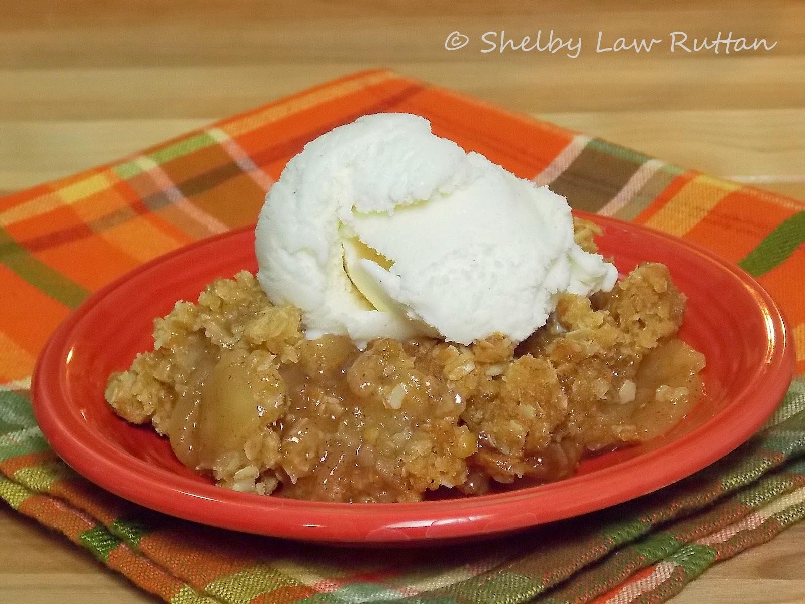 The Best Apple Crisp I ever made - Grumpy's Honey Bunch