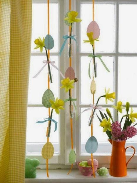 Dekoracje Wielkanocne - przygotuj okno na wiosnę.