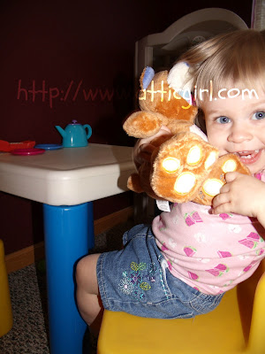 nuby, tickle toes bear, stuffed animals, babies, toddlers, toys