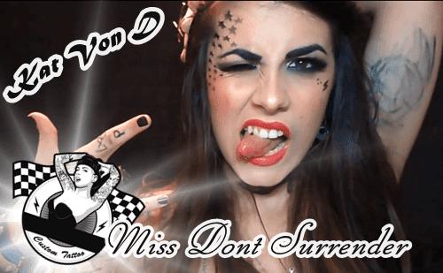 Caracterizacion de Kat Von D por Miss Dont Surrender