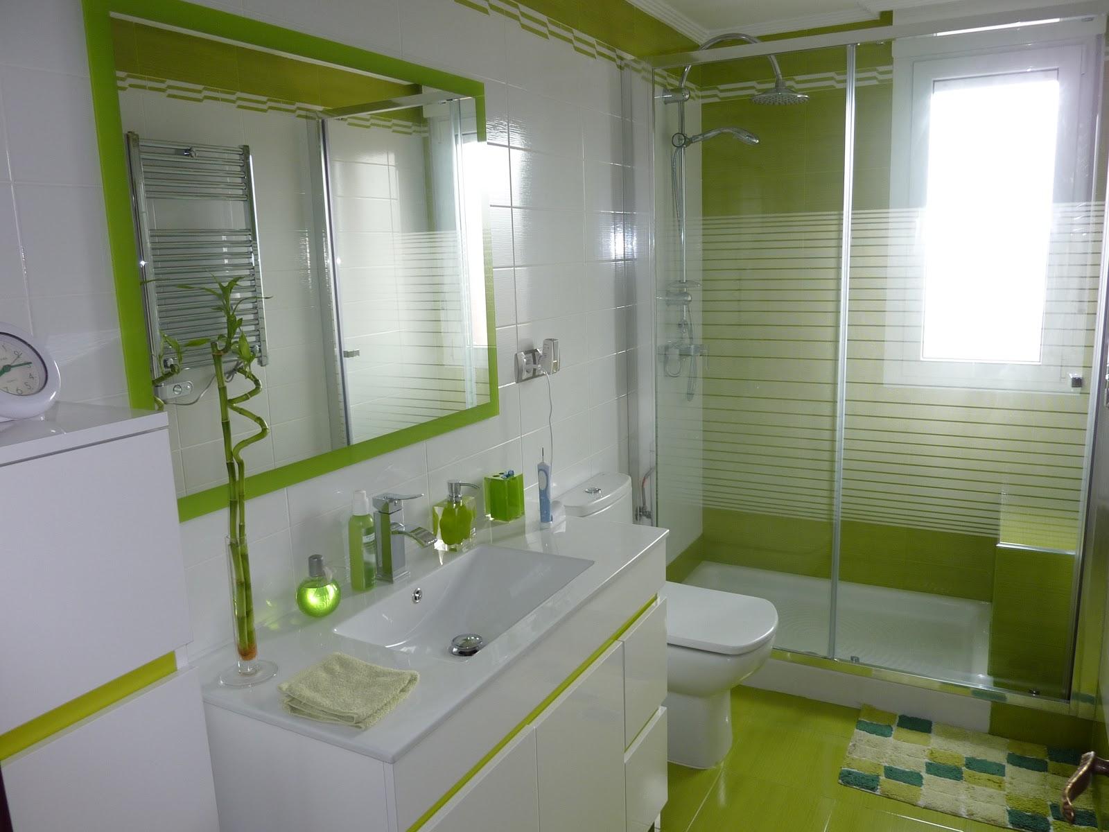 Baño Verde Con Blanco:Publicado por servireformas servireformas gijon en 2:34 No hay