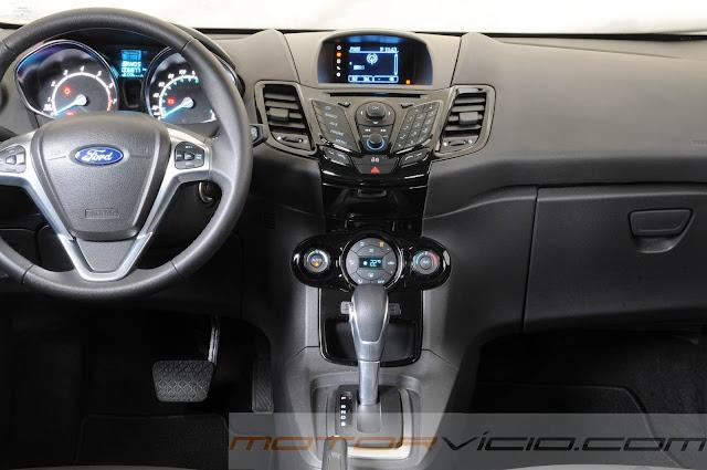 Novo Fiesta 2014 Automático - interior
