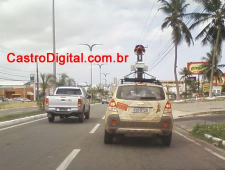 IMAGEM - carro do Google Street View em São Luis - MA