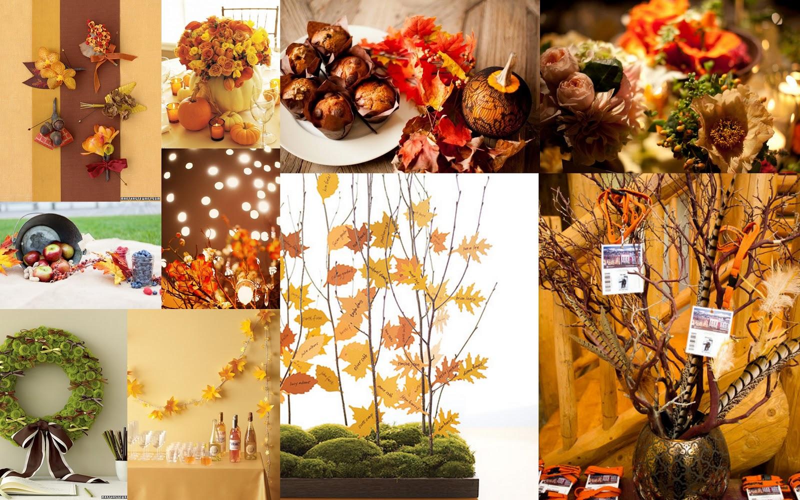 Jara a lifeholic elegir los colores de mi boda - Decoracion de otono ...