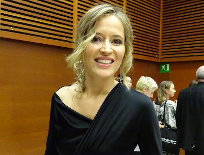 Marta Larralde - Rueda de prensa de El apóstata