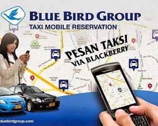 Taxi Order Dengan Blacberry