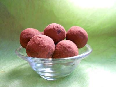 tartufini al cioccocato aromatizzati al caffè