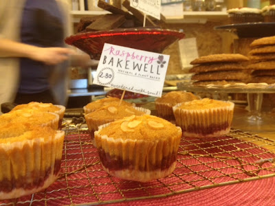 happy kitchen london fields bakewell tarts and brownies