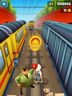 Download Subway Surfers adaptado para o Galaxy Y e Pocket (sem uso de