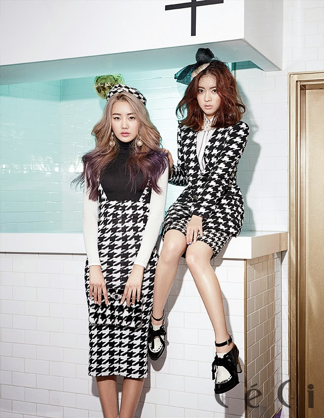 Dal Shabet - Ceci Magazine February Issue 2014