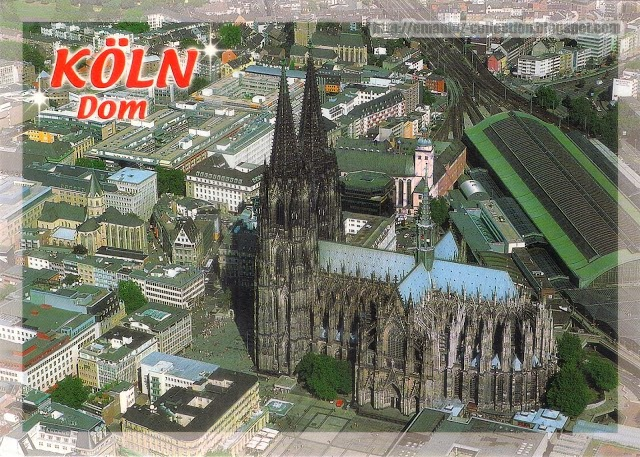 Meaning of band name Bap - Cologne postcard