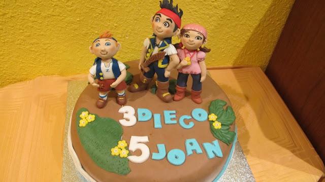 Torta de yei imagui for Yei y los piratas de nunca jamas