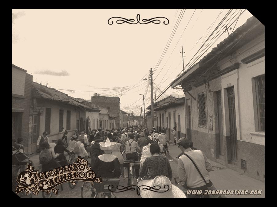 CICLOPASEO CACHACO 2014 en Bogotá 6
