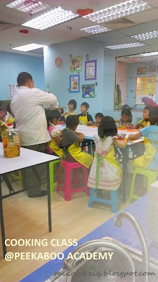 kids cooking class in kl