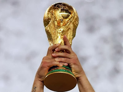 2014 FIFA World Cup in Brazil trophy