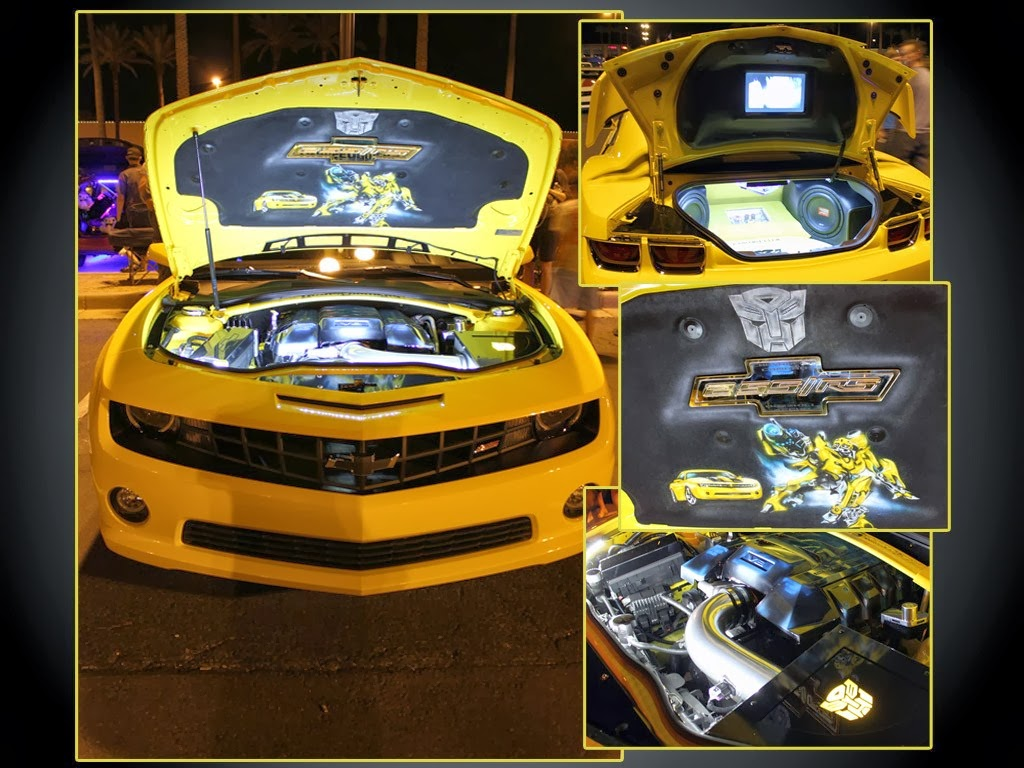 Camaro Bumblebee Car Review