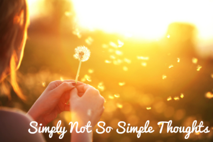 Simply Not So Simple Thoughts