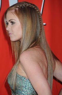 Hairstyle For Braided Hair Picture Gallery
